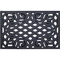 Nicoman Non-Slip Barrier Doormat Eco-Friendly Scrape Outdoor Drainage Door Mat