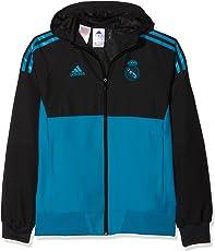 adidas Kinder UCL Präsentationsjacke Real Madrid Jacke,