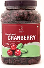 Flyberry Gourmet Dehydrated Sliced Cranberries, 500g (FLYBRDHF12)