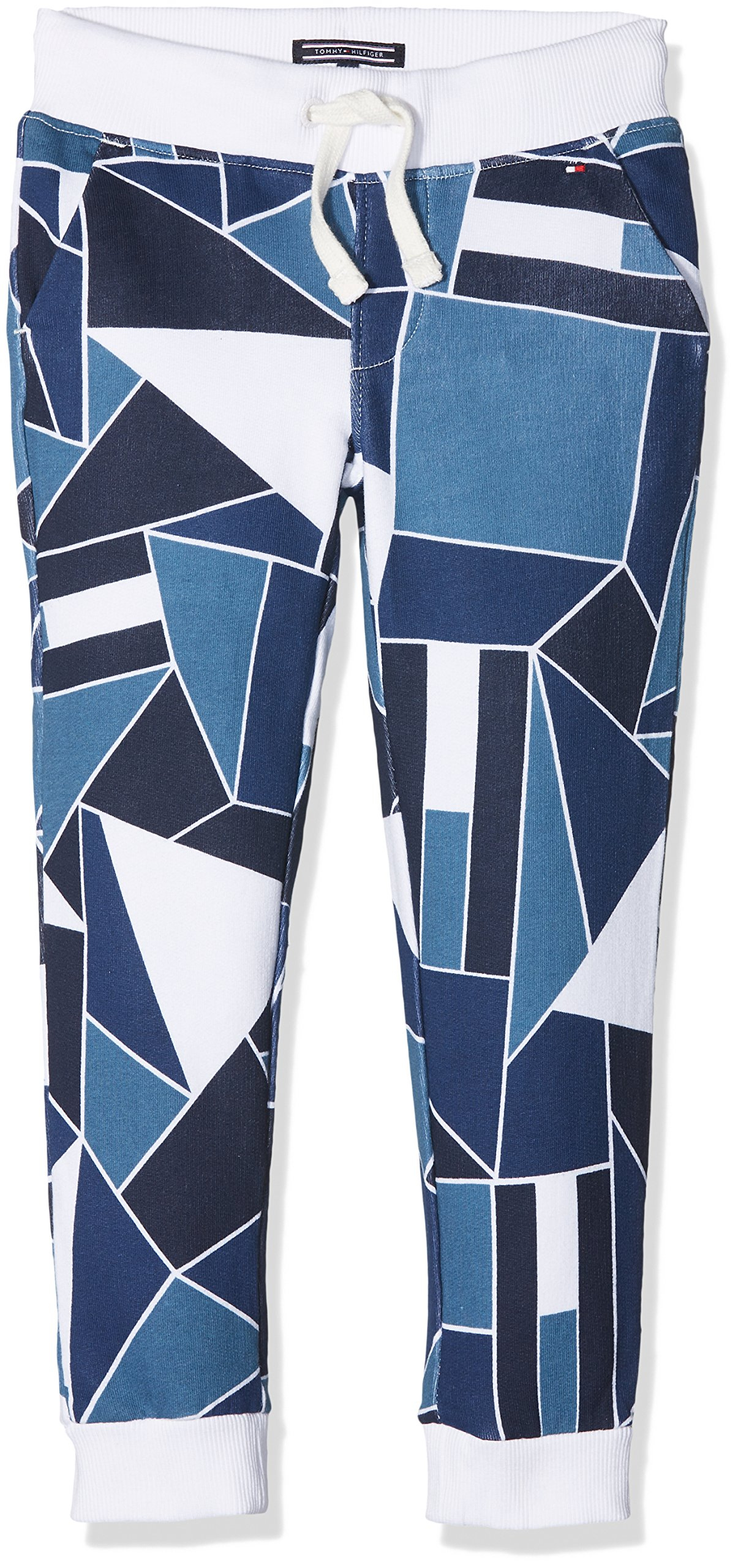 Tommy Hilfiger Flag Block AOP Sweatpant Pantalones para Niños