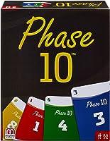 Mattel Games FPW38 - Phase 10 Kartenspiel, geeignet für 2 - 6 Spieler, Spieldauer ca. 60 - 90 Minuten,...