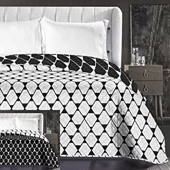 Decoking Collection Rhombuses Couvre Lit Reversible Facile D