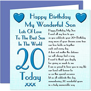 20th Birthday Cards Compare With Similar Items