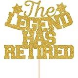 The legend has retired cake topper. Retirement party. Retirement cake topper decorations, job party ideas, corporation…