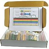 Electrobot EB-RES40 40 Value Resistor Kit, Pack of 1000 (1ohm - 1Mohm)