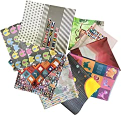 """eVincE 10 Assorted Informative 20"""" x 28"""" Gift Wrapping Papers with interesting informations to share on BIRTHDAYS, ANNIVERSARIES, FESTIVALS, APPRECIATION, ALL OCCASSIONS, RAKSHABANDHAN, DIWALI , CHRISTMAS, to enrich brains while gifting and SCRAPBOOK MAKING, CRAFT USE."""