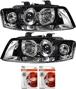 Qr Parts 69584735 Set Xenon Headlight Left 1008487 Xenon Headlight Right 1008513 Osram H7 Classic 64210clc 2 Pieces Auto