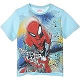 Spiderman Niños Camiseta De Manga Corta