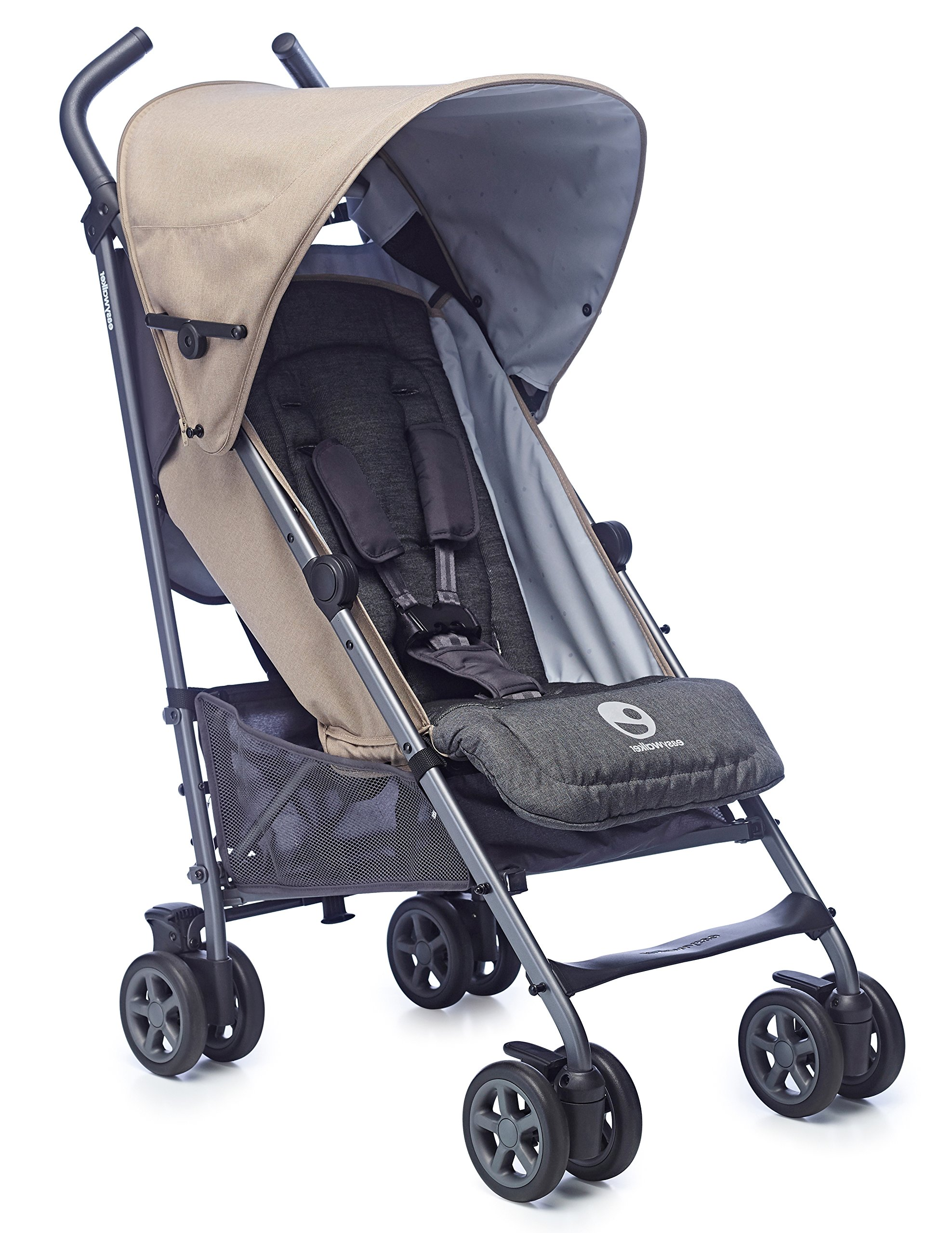 Easywalker Buggy Ibiza Brunch  Suitable from birth 5 point 3 position harness Four recline positions with near flat recline 1