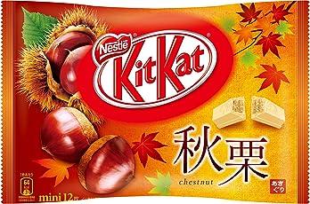 Japanische Kit-Kat Mini Herbst Kastanie 12 Riegel Japan Schokolade