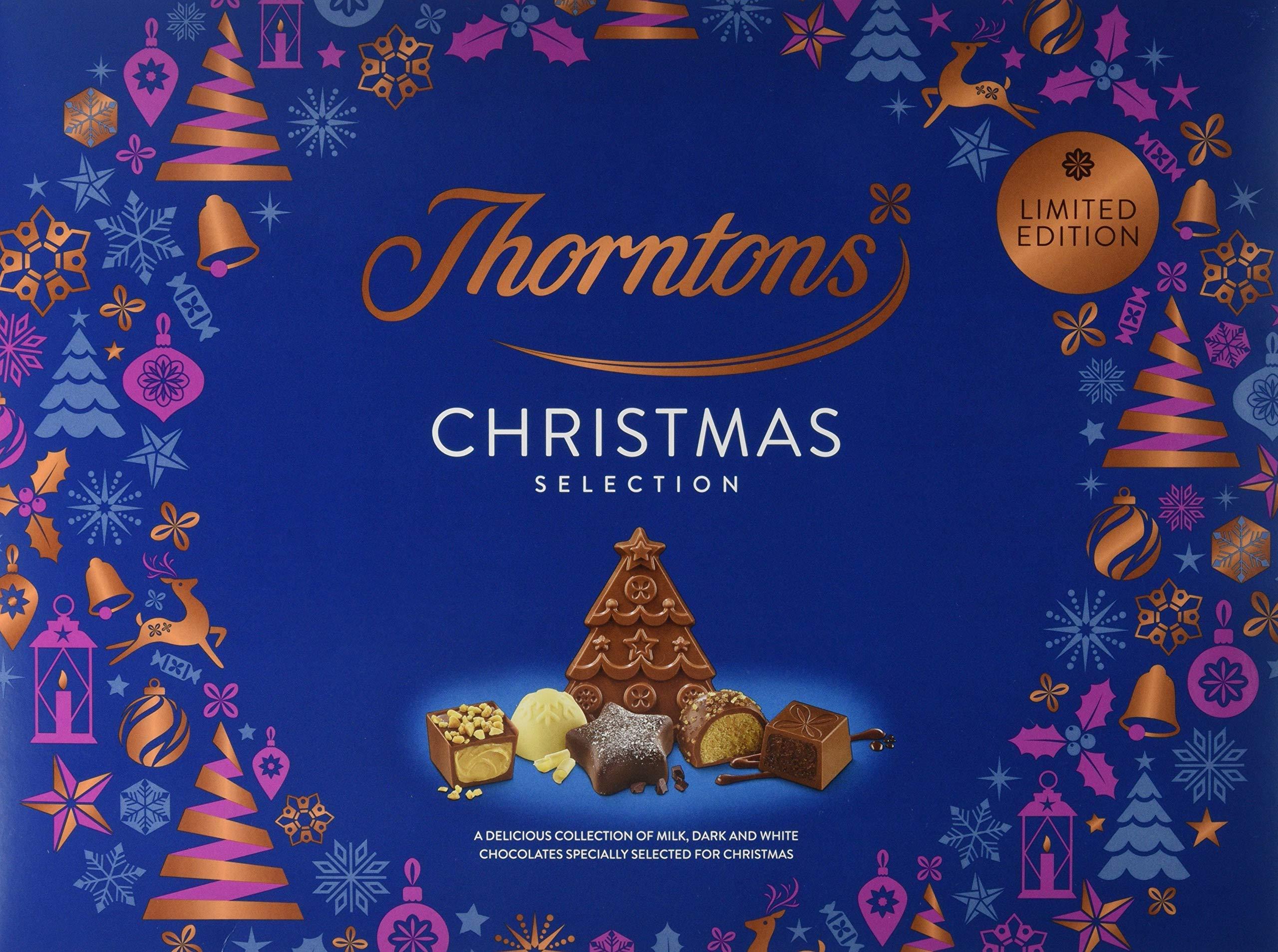 Thorntons Christmas Selection Chocolate Box 418g Fresh