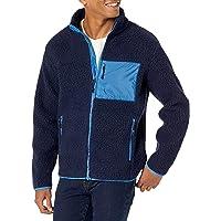Marchio Amazon - Goodthreads Sherpa Fleece Fullzip Jacket Uomo