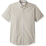 Amazon Essentials Regular-Fit Short-Sleeve Poplin Shirt_d Hombre