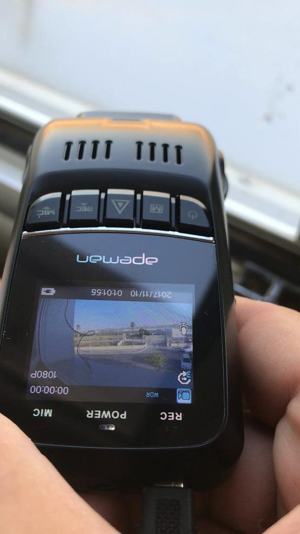 APEMAN Cámara de Coche Dash Cam Full HD 1080P Dual Lens 170°Gran Ángulo, WDR Visión Nocturna Dashcam con G-Sensor Loop de Grabación detección de Movimiento ...