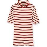 Scotch & Soda High Neck tee In Special Rib Quality Camiseta Deportiva de Tirantes para Niñas