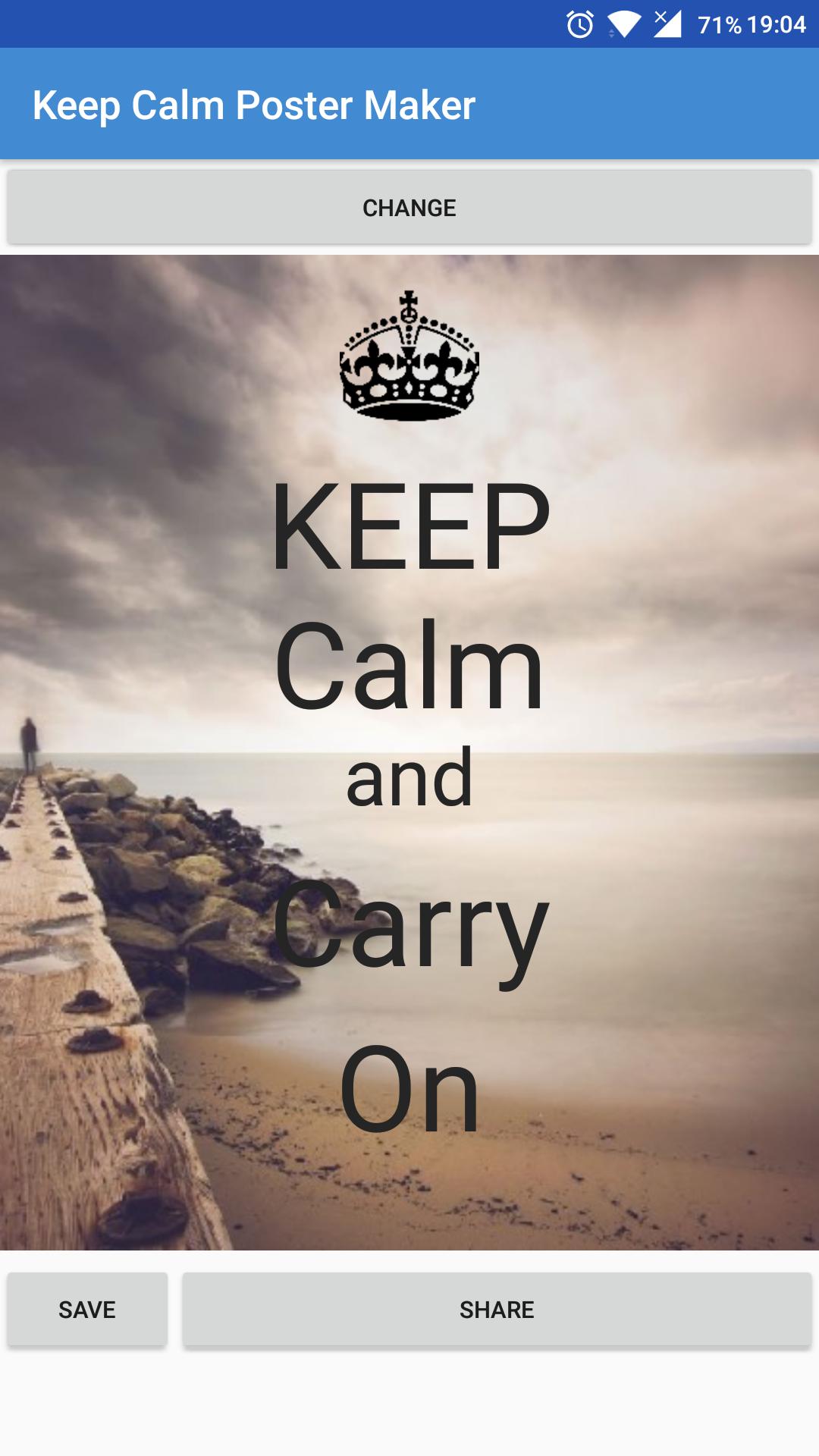 Rar Descargar Keep Calm Poster Maker: Amazon co uk: Appstore