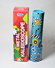 Sunny Metal Kaleidoscope for 5 year old boys and girls—Light Blue and multi color, any one random design will be dispatched.-combo of 2