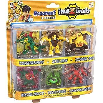 IMC Toys - 30497 - Invizimals Confezione di 6 Figurine e 6 Card