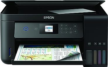 Epson EcoTank ET-2750 nachfüllbares 3-in-1 Tintenstrahl Multifunktionsgerät (Kopierer, Scanner, Drucker, DIN A4, Duplex, USB 2.0, hohe Reichweite, niedrige Seitenkosten)