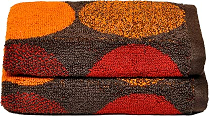 Casa Lino - Prince Premium 100% Cotton Jacquard 500 GSM Set of 2 Hand Towels Set. (40 X 60cm.) -