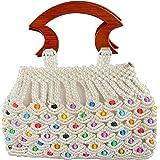 Maitreyee Enterprise Women's Handbag (Maitreyee Enterprise 7_White)