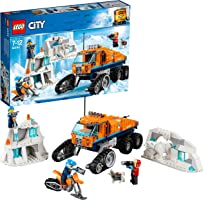 LEGO 60194 City Arctic Expedition Scout Truck Toy, Explorer Vehicle Building Sets, Build and Play Winter Adventure for Kids