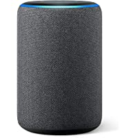Amazon Echo (3rd generation)   Smart speaker with Alexa, Charcoal Fabric