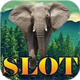 Elefante de África Slot Machine Deluxe - Mega apuesta máxima ganan gratis de Las Vegas poker tragaperras del casino bono jackpot progresivo juego de la máquina de póquer