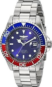 Invicta 24946 Pro Diver Orologio da Unisex acciaio inossidabile Quarzo quadrante blu