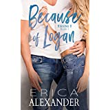 Because of Logan: A Heartwarming and Sexy College Romance (Riggins U Book 1) (English Edition)