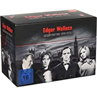Edgar Wallace Gesamtedition (1959-1972) [33 DVDs]