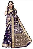 Rivana Designer Woven Patola Style Art Silk Banarasi Silk Sarees with Blouse