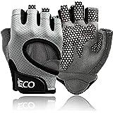 iECO Gewichtheffen Gym Handschoenen voor Mannen Vrouwen Workout Handschoenen met Volledige Palm Bescherming Geweldig voor Fit
