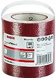 Bosch Professional Schleifrolle für Weichholz, Breite: 93 mm Länge: 5m Körnung 80 C410)