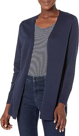 Amazon Essentials Lightweight Open-Front Cardigan Sweater Gilet Femme