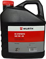 Wuerth SAE 5W-40 High Technology Synthetic Engine Oil (4 L)