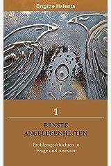 Ernste Angelegenheiten 1 Kindle Ausgabe