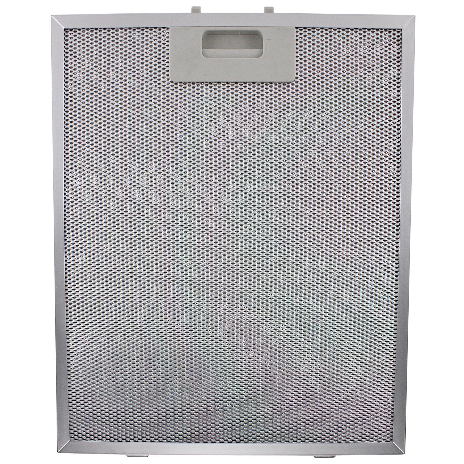 Spares2go Turboair Filtro per grasso, per cappa da cucina, motivo: Elica, colore: argento, 320 x 26