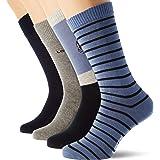 Levi's Mountain Regular Cut Socks Giftbox (4 Pack) Calcet (Pack de 4) Unisex adulto