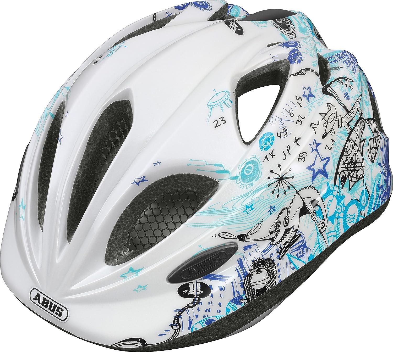 ABUS Casque Vélo pour enfants Super Chilly scribble Blue Taille S Amazon Sports et Loisirs
