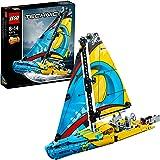 LEGO®-Technic Le yacht de compétition Jeu Garçon et Fille 8 Ans et Plus, Jeu de Construction, 330 Pièces 42074