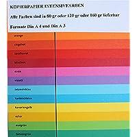 Clairefontaine 1763C Lot de 250 feuilles de papier Trophee A4 120 g/m² (Orange) (Import Allemagne)