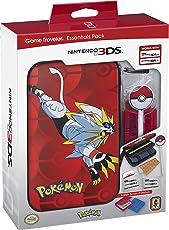 Nintendo 3DS Pokemon Sun & Moon Starter Kit - Solgaleo with PokeBall Stylus - Nintendo 3DS
