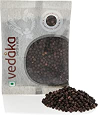 Amazon Brand - Vedaka Black Peppercorn (Kali Mirch), 100g