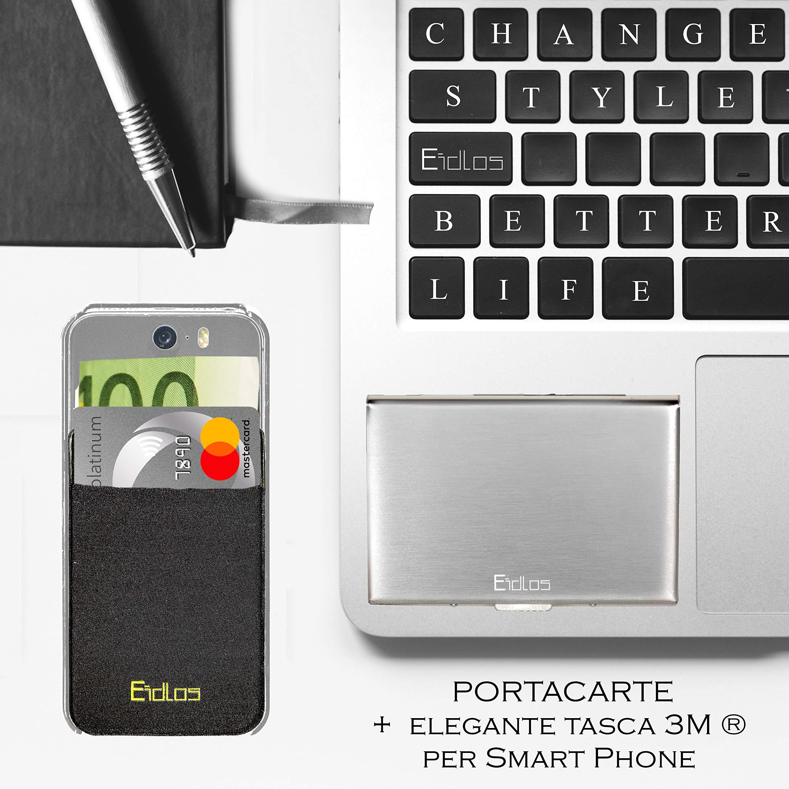 cab0f07884 Portafoglio e Porta carte di credito schermato rfid nfc uomo, Portacarte e  banconote piccolo, portafogli e Idee regalo porta documenti