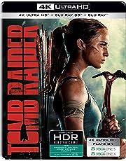 Tomb Raider (Steelbook) (4K UHD + Blu-ray 3D + Blu-ray)