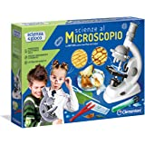 Clementoni Scienza e Gioco Microscopio Scientifico, Multicolore, 13966