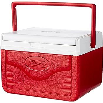 COLEMAN Ice Box 5Qt FlipLid Red 4.7L