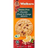 Walkers Shortbread Gluten Free Chocolate Chunk and Orange Biscuits, 150 g