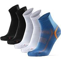 DANISH ENDURANCE Quarter Running and Athletic Socks, for Men & Women, Light Weight, Breathable & Sweat-Wicking, Fitness…